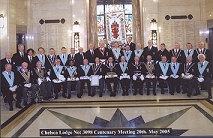 Officers of the Lodge